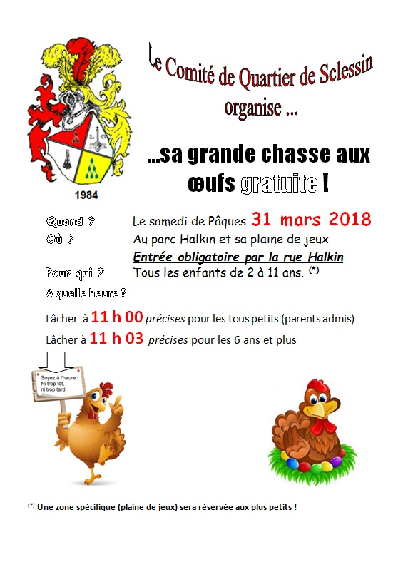 Chasse aux oeufs 2018